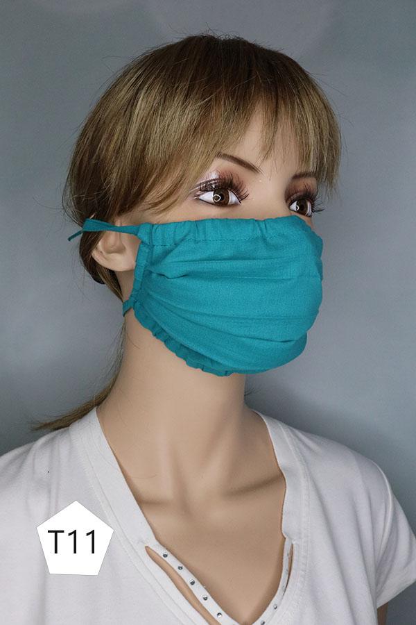 maska ochronna z troczkami kod. t - damska